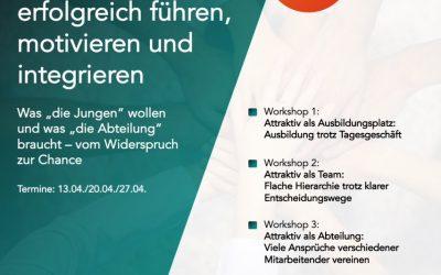 Workshopreihe 1 — Junge ÄrztInnen erfolgreich führen, motivieren und integrieren