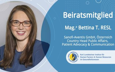 Beiratsmitglied Bettina Resl