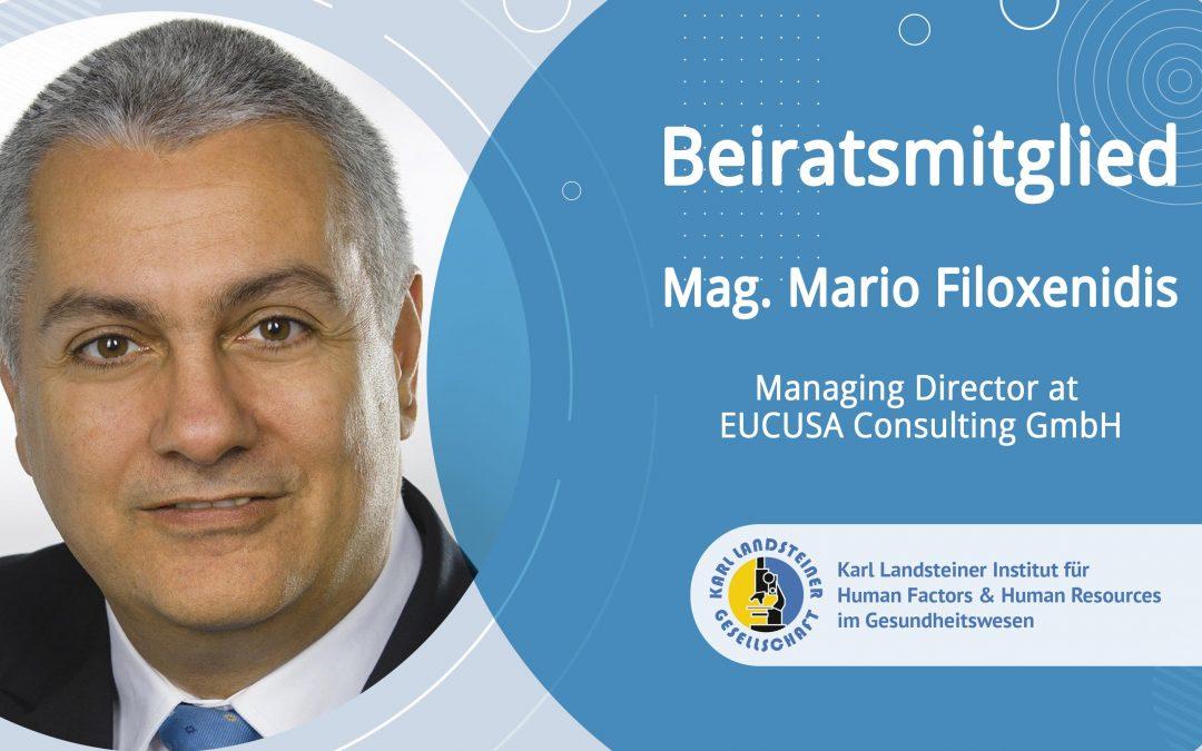 Beiratsmitglied Mario Filoxenidis