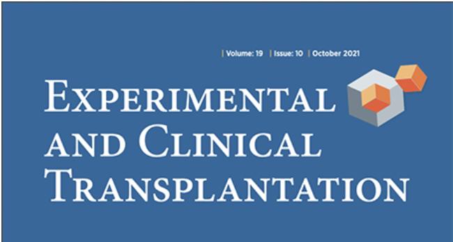 Experimental and Clinical Transplantation